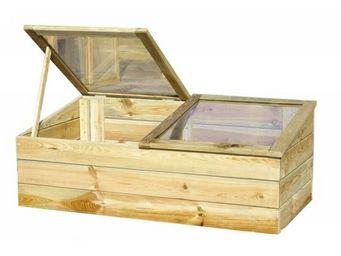 CEMONJARDIN - serre en bois modèle venezia - Serre Potager