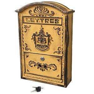 CHEMIN DE CAMPAGNE - boîte aux lettres fonte boîte à lettre courrier de - Boite Aux Lettres