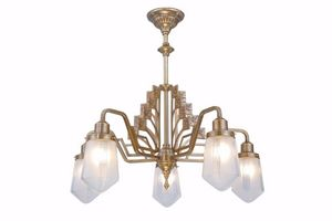 PATINAS - linz 5 armed chandelier - Lustre