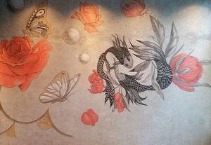 Atelier Follaco - yin-yang - Décoration Murale