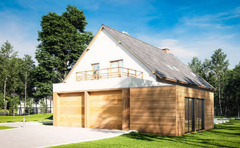 WOOD DESIGN -  - Maison En Bois