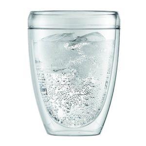 BODUM - gobelet en plastique double paroi forme haute 35cl - lot de 6 - pavina - bodum - Autres Divers Vaisselle