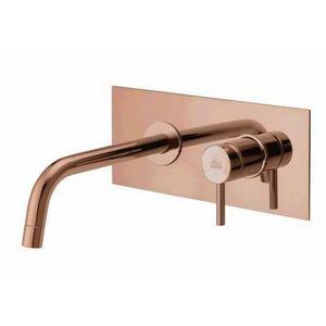 PAFFONI - light - robinet de lavabo à encastrer, finition rose gold (lig103rose/m) - Autres Divers Salle De Bains