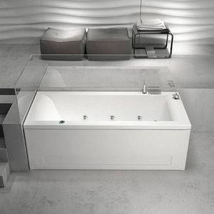 Grandform - mambo digital plus baignoire d'hydromassage - mesurage: 170x80 - taps: sans robi - Baignoire Balnéo