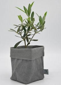 ROTIN ET OSIER - dafne gris - Cache Pot