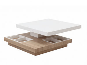 WHITE LABEL - table basse fausto - Table Basse Relevable