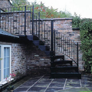 Cottage Craft Spirals -  - Escalier D'ext�rieur
