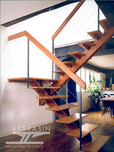 Escalier Sarrasin -  - Escalier Droit