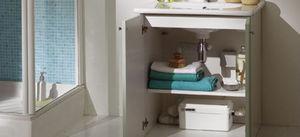Blanc Saniflo -  - Meuble Sous Vasque