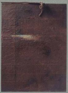 Cante Pacos Francois - mémoire de rouille - Composition Abstraite