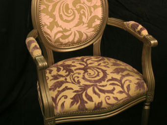 Luc Perron Creation -  - Fauteuil M�daillon