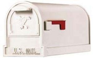 USMAILBOX - mailbox arlington blanc - Boite Aux Lettres