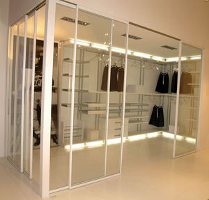 RES Doors and Systems - salone del mobile milano 2009 - Dressing En U