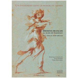EDITIONS GOURCUFF GRADENIGO - dessins français du musée de darmstadt - Livre Beaux Arts