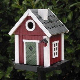 Garden Boutique - swedish cottage birdhouse - Maison D'oiseau