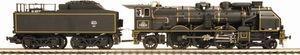 frantic - pacific 231 chapelon version noire - Train Miniature