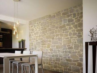 Orsol - pierre manoir ton gris - Parement Mural Int�rieur