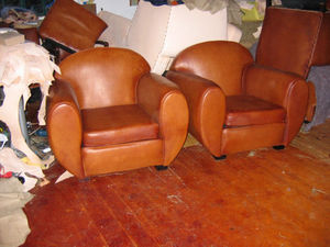 Fauteuil Club.com - paire de fauteuil rond gros modèledit éléphant. - Fauteuil Club