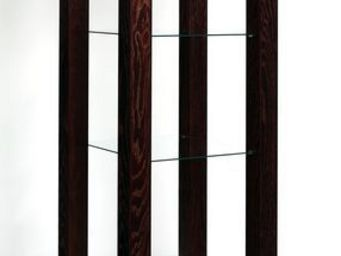 Gerard Lewis Designs - open display unit with glass shelves - Armoire Vitrine
