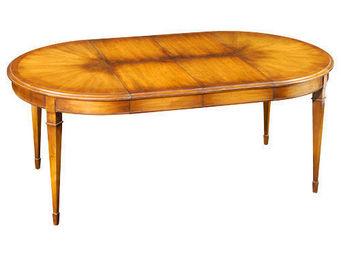 Grange - directoire - Table De Repas Ovale