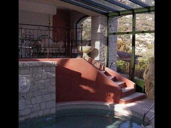 Spoto Veranda -  - Abri De Piscine Haut Fixe Mural