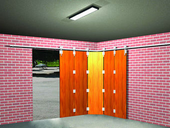Mantion - sportub - s�rie bob - Porte De Garage Coulissante