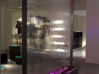 SDECO INTERIORS - stainless steel waterfall - Mur D'eau