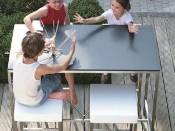 my-deco-shop - la table haute rolbloc - Mange Debout