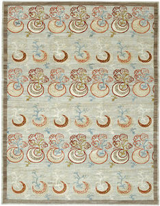 Cb Parsua - croissants de lune - Tapis Traditionnel
