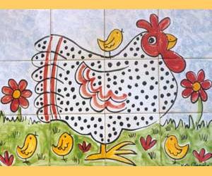Kate Glanville -  - Carreau De C�ramique