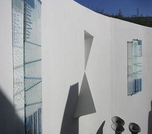 Jo Vincent Glass Design - wall panels - Panneau Décoratif En Verre