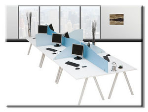 Eco Manufacturing - smarty acrylic screens - Séparation De Bureau