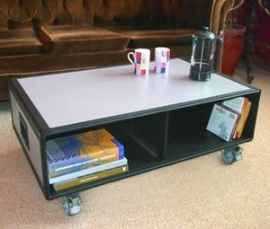 Q-Style -  - Table Basse � Roulettes