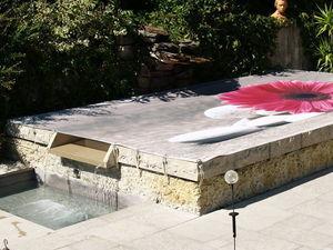 Tiki concept -  - Couverture De Piscine Hors Sol