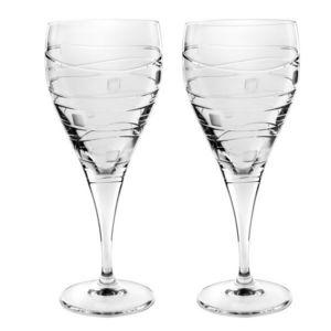 Royal Worcester - large wine glasses - Verre À Pied