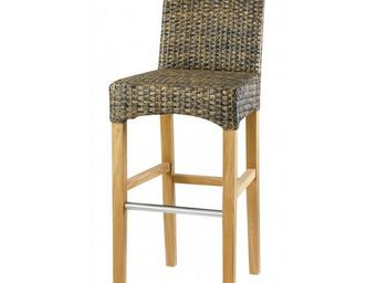 MEUBLES ZAGO - chaise de bar loom brasilia - Chaise Haute De Bar