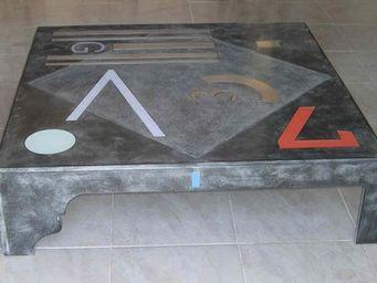 Decoupe Creative - point g - Table Basse Carrée
