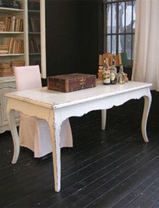 BLEU PROVENCE - vintage blanc - Table De Cuisine