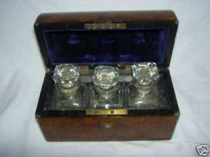 Art & Antiques - cave � parfums �poque napol�on iii - Coffret � Parfum