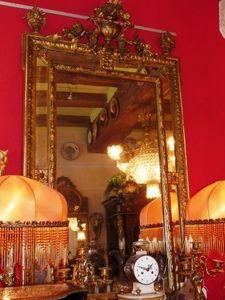 Art & Antiques - miroir � pare close xixe - Miroir