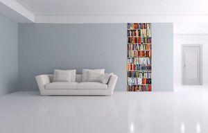 JOHANNA L COLLAGES - tableaux trompe l'oeil bibliothèque - Tableau Décoratif