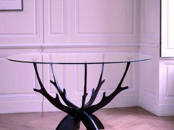 La maison de Brune - ivy - Table De Repas Ronde