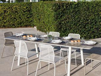 ITALY DREAM DESIGN - bend - Table De Jardin À Rallonges