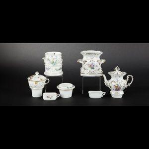 Expertissim - deux tisanières en porcelaine - Tisanière