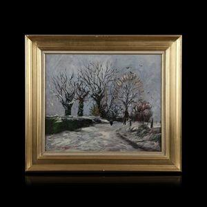 Expertissim - jean-pierre jouan. hiver, saint gatien, 1975 - Paysage