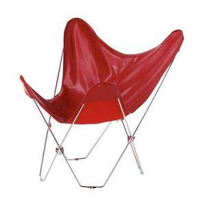 MAISONS DU MONDE - fauteuil rouge easy - Fauteuil