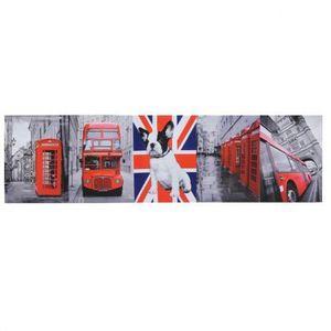 Maisons du monde - kit 5 toiles british - Tableau Décoratif