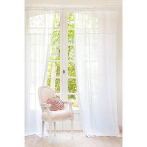Maisons du monde - rideau eloise brodé - Rideaux À Lacettes