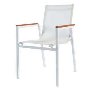 Maisons du monde - fauteuil blanc antalya - Fauteuil De Jardin