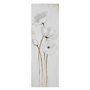 Maisons du monde - toile alice fleurs - Tableau Décoratif